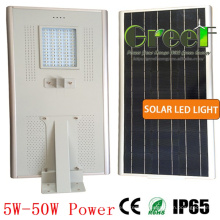 5W Solar do diodo emissor de luz de rua e uso de estrada
