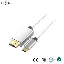 Cable de metal USB tipo C a HDMI