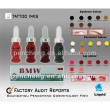 Labios y Cejas Permanent Make Up Tatuaje Pigmento / Tinta-15ml / bottle Liquid