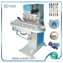 Impressora quatro cores da almofada do transportador