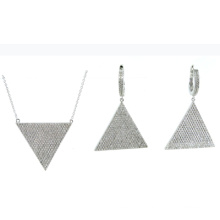 Newest Design Fashion Jewelry 925 Silver Sets (S3317)