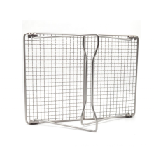 Titanium BBQ Grate with Leg Folding Barbecue Grill