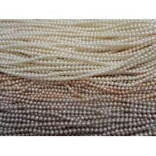 5-6mm AA Grade Cultured Freshwater Pearl Strand