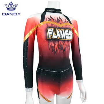 Benutzerdefinierte Ruhm Sublimation Cheer Uniformen