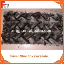 010 Plata Azul Fox Plate Fox Fur Plate