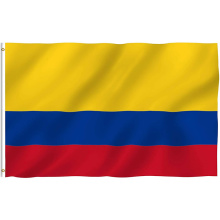 High Quality 100% Polyester Columbia National Flying Flag