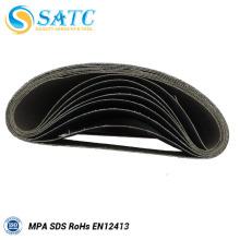 A correia de lixa abrasiva revestida inclui 40-120 grit 10 PACK