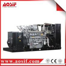 Generador de 1480KW / 1850KVA 50hz con el motor de perkins 4016TAG1A hecho en Reino Unido