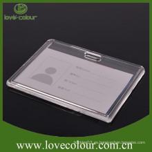 Fábrica de venta directa de plástico duro titular de la tarjeta de identificación