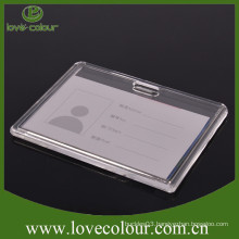 Factory Direct sale hard plastic id card holder