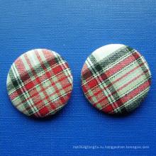 Заказная круглая кнопка олова, вышивка Pin отворотом (GZHY-TB-011)