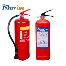 Портативный одобренный CE 6кг порошка ABC сухой огнетушитель