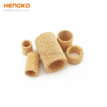 0.5 2 10 20 50 Microns Bronze Stainless Steel 304/316L Sintered Porous metal filter  for oil filter or industry system