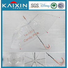 High Quality Wind-Proof Transparent Poe Umbrella