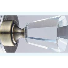 Janela de cristal Finial Metal