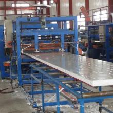 Linea de fabricar de SP-9 Z-Lock de lana de roca / EPS Sandwich Panel Panel Sandwich De Poliuretano Linea