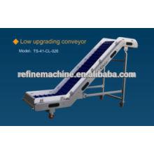 Low upgrading conveyor/Vegetable and fruit elevator/machinery