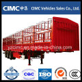 3 Axles 50 Tons Bulk Cargo Stake Semi Trailer