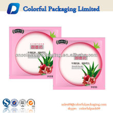 Sacos de empacotamento impressos da máscara facial cosmética da folha plástica do logotipo