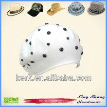 LSC40 Nningbo Funny Winter 100% Cotton thin cotton beanie