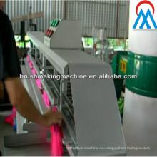 Máquina semiautomática de recorte de escoba
