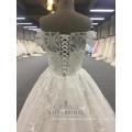 Latest Bridal A Line Wholesale Off Shoulder Design Wedding Dresses