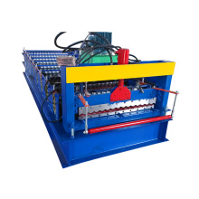 XN850 Passed ISO&CE wave zinc steel tile roofing sheet marking roll making roll forming machine for sale