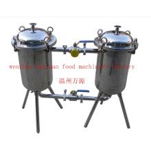 Санитарный дуплексный фильтр из нержавеющей стали