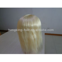 100 virgin remy human hair women hair toupees full silk base