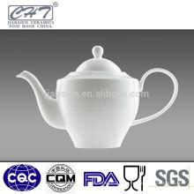 Jarra de té de porcelana de porcelana china de hueso de calidad fina jarra de agua de pote de té