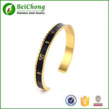 bracelete da mulheres do velocímetro de aço inoxidável 316L de moda