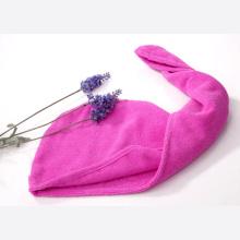 produtos de cabelo secado com toalhas de secagem rápida