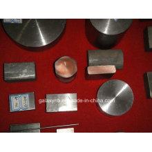 Titânio de alta qualidade folheados barra de Metal de cobre