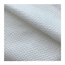 Professional Manufacture Cheap 60gsm-80gsm White Color Pearl Pattern Cross Spunlace Non-woven Fabric