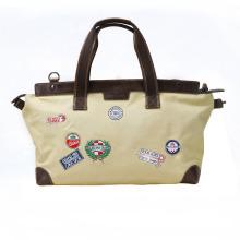 Tourbon новый мода холст вещевой мешок спорта на открытом воздухе кожа вещевой мешок