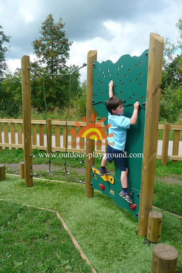 panel climber park playground structure for children