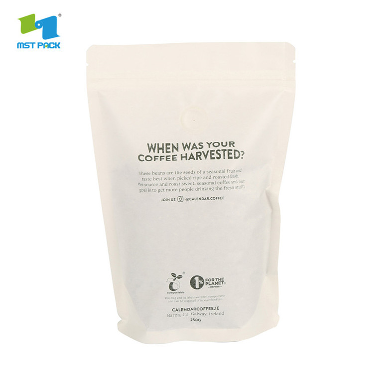 Coffee Pouches With Valve