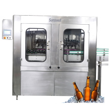 Automatic Beer Glass Bottle Filling Machine