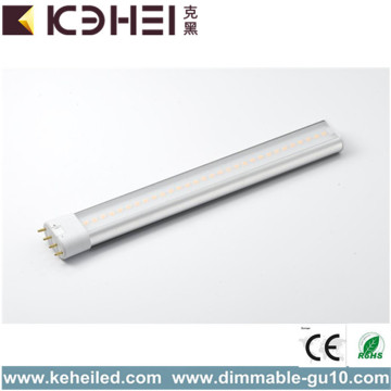 CE 10W 2G11 PL LED Tube Blanc chaud