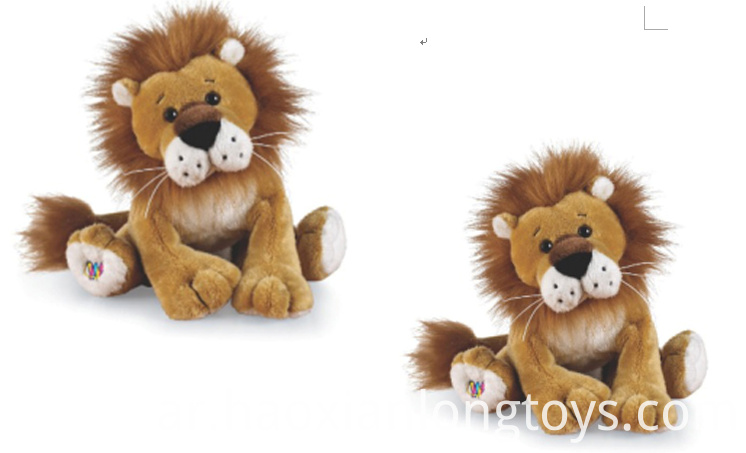 Simulated Lion Plush Toys