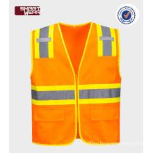 Hi Vis Warning Reflective Safety Vest For Running Manufacturer In China