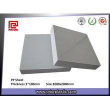 White Hard Plastic Solid PP Panel