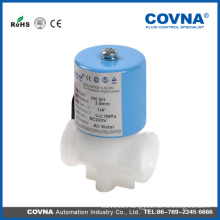 mini mechanical water plastic solenoid valves for home use,low pressure