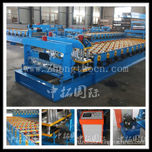 Color-Glazed Roof Tiles Roll Forming Machine
