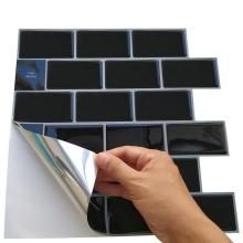 Adesivo de parede de azulejos de vinil autoadesivos para cozinha