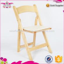 Hot Selling Qingdao Sionfur chaises pliables pliable en bois