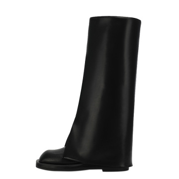 2021 high tube trouser round toes fashion boots