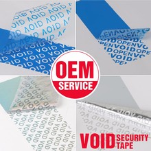Custom Anti-counterfeit VOID Security Seal Label Sticker