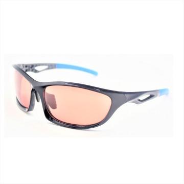 Блестящие черные солнцезащитные очки для спортивных мужчин Wear-16036