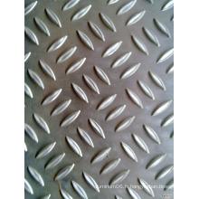 1060 lamelles en aluminium gaufré en érable miroir 1060